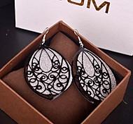 The 2015 Vintage Fashion Wind Pierced Earrings Ring Multi-Level Pala