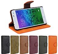 Samsung Handy - Samsung Galaxy Alpha - Hüllen (Full Body)/Hüllen mit Ständer - Einfarbig/Spezielles Design PU Leder/Kunstleder )