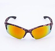 Cycling Men's Anti-Wind Plastic Wrap Fashion Sports Glasses