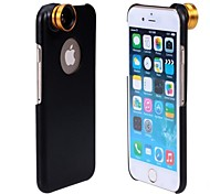 APEXEL Detachable 2 in 1 Screw-in Wide Angle 0.67X and 10X Macro Lens with Back Cover Case for iPhone 6