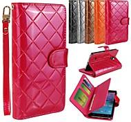 Teléfono Móvil Samsung - Carcasas de Cuerpo Completo/Bolsas/Fundas con Soporte - Color Sólido/Patrón de Cuadrícula/Diseño Especial - para Samsung