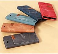 iPhone 6 Plus - Gehäuse mit Kickständer/Ganzkörper-Gehäuse/Cover-Rückseite/Splitterfestes Gehäuse -Einfarbig/Spezielles Design/Streifen/ Riffel