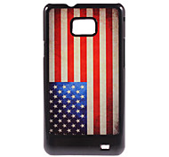 US Flag Design Aluminium Hard Case for Samsung Galaxy S2 I9100
