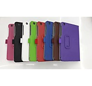 Hand Holds Card PU Leather Full Body Case with Card Slot for Lenovo A8-50 A5500(Assorted Colors)
