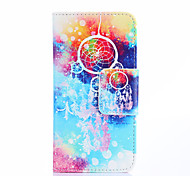 Dream Catcher And Multicolor Galaxy Pattern PU Leather Full Body Case with Stand Case for Samsung Galaxy A3