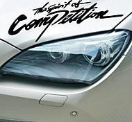 автомобильные наклейки с духом соревнования!