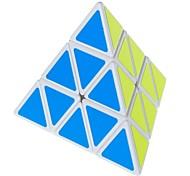 Triangular 4-Color Pyraminx Pyramid IQ Magic Cube - White Base
