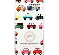 Fashion Painted Cars PC Hard Case for Samsung Galaxy A3