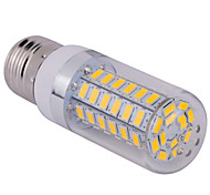 E27 15W 60x5730SMD 1500LM 2800-3200K /6000-6500K Warm White/Cool White Light LED Corn Bulb (110/220V)