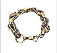 Tina -- Korean Fashion Titanium Steel Dragon Bracelet in Party