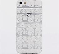 Gráficos/Cartoon/Design Especial/Feito na China - iPhone 5/iPhone 5S - Capa traseira ( Colorido , PUT )