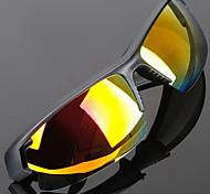 Cycling Anti-Wind Acrylic Wrap Fashion Sports Glasses (Random color)