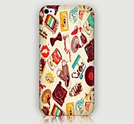 iPhone 4/4S/iPhone 4 - Cover-Rückseite - Cartoon/Spezial-Design/Neuartig ( Mehrfarbig , Kunststoff )