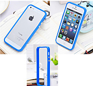Silicone Bumper Frame Hard Case for iPhone 4/4S(Assorted Colors)