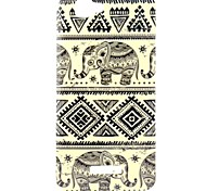 Elephant Pattern TPU Soft Back Cover for Wiko RAINBOW