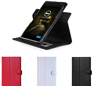 Hand Strap Leather Case Rotary Stand Cover Wallet for Dell Venue 8 7000 7840