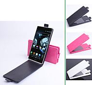 PU Leather  Protective Case With Holder Stand for Pantech  Vega Iron A870L/A870S/A870K(Assorted Colors)