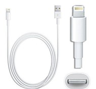 IMF 8-pins relámpago macho a USB 2.0 cable macho para iphone / ipad / ipod (100cm)