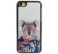 Lovely Koala Design Aluminium Hard Case for iPhone 5C