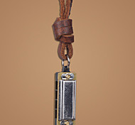 The 2015 Vintage Leather Fashion Art Long Sweater Chain Pendant Necklaces