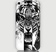 Tiger Pattern Back Case for iPhone 6