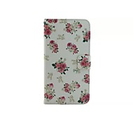Peony Flower Pattern Wallet Card PU Leather Full Body Case for Microsoft Lumia 640 XL