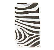 Kinston® Zebra Pattern PU Leather Full Body Cover with Stand for Huawei Honor 6X/6 Plus