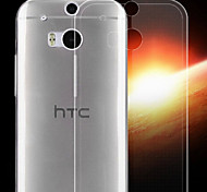 Transparent Back Case Cover for HTC One(M8)