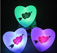 Multicolor Romantic Loving Heart Pattern Night Light