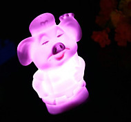 Multicolor Pigsy Pattern Night Light