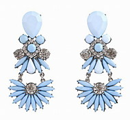 Fashion Alloy/Resin/Rhinestone Earring Drop Earrings For Women Party/Daily