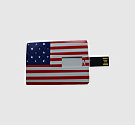 8gb americano usb tarjeta bandera pen drive Flash