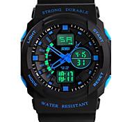 Men's Waterproof Digital Watches (Assorted Colors)