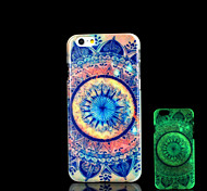 Aztec Pattern Glow in the Dark Cover for iPhone 6 Plus Case