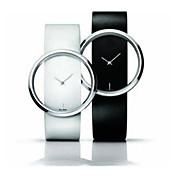 semplice&trasparente lusso cava orologio quadrante super slim per le donne