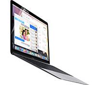 moencase alto protector de pantalla transparente para el macbook de 12 ''