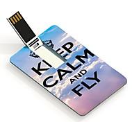 32G Keep Calm and Fly Design Card USB Flash Drive