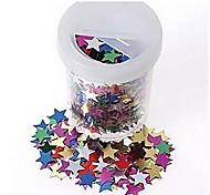 estrela decoração de mesa de confetti (20 g)