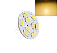 1 pcs G4 3W 9X SMD 5730 130LM 2800-3500/6000-6500K Warm White/Cool White Bi-pin Lights DC 12V