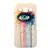 eye schilderij TPU Case voor Samsung Galaxy j1