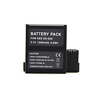 1500mAh 3.7V AEE DS-S50  Camera Battery for AEE  SD19/SD20/SD21/SD21/SD23