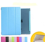 New arrival For iPad Air2 iPad6 Front Fold PU Leather Smart Cover