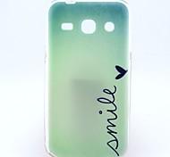 Para Funda Samsung Galaxy Diseños Funda Cubierta Trasera Funda Palabra / Frase TPU Samsung Trend 3