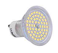 GU10 6W 60x2835SMD 720LM 2800-3200K/6000-6500K Warm White/Cool White Light LED Spot Bulb (200-240V)