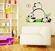 Lovely Baby Panda PVC Wall Stickers Wall Art Decals