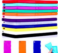 BIG D Silica Gel Soft Back Case for Sony Xperia Z3(Assorted Color)