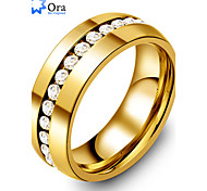 Ring Fashion Party Jewelry Gold Women / Men Statement Rings 1pc,One Size Gold