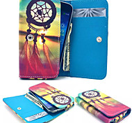 Sunrise Leather Wallet style Full Body Case and Card Slot for Samsung Mobile Size<13.8*7.6*2.1