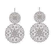 Fashion Women Cut Out Stamping Earrings