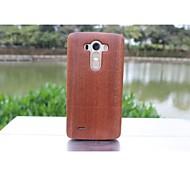 genuino bambù di lusso in legno della copertura posteriore custodie protettive naturali moda per cellulare g3 cellulare lg (colori